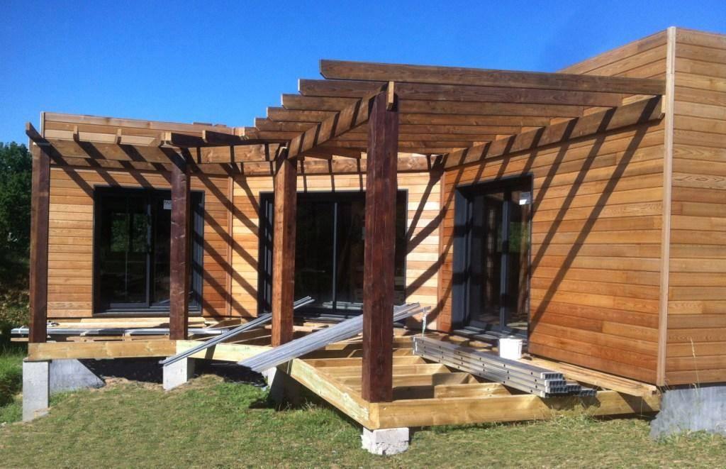 Photo de travaux modulabois, terrasse en bois et pergolas en bois